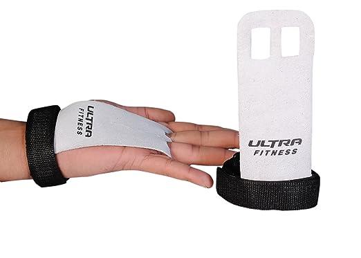 3 opinioni per Ultra Fitness Due paracalli da allenamento in pelle lavorata, per trazioni,