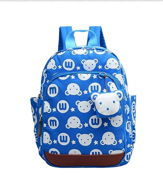 Mochila escolar Anti-Lost Kids Baby Bag Estampados de animales ...