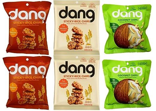 Dang non-gmo Coco y última intervensión de gluten Sticky ...
