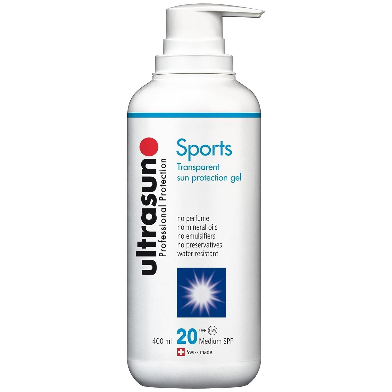 Ultrasun SPF20 Sports Sun Protection Gel 400ml