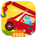Dinosaur Rescue - Truck Driving Simulator Games for Kids Free
