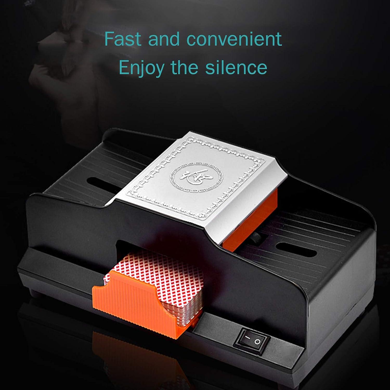 Mischmaschine Karten Elektrische Kartenmischer Automatischer EIN//Zwei Deck Karten Mischger/ät Kartenmischmaschine
