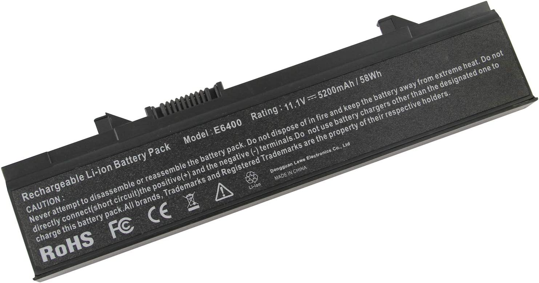 Replacement Laptop Battery for Dell Latitude E5400 E5410 E5500 E5510 KM742 KM769 RM656 T749D
