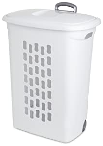 Sterilite 12228003 Oval Laundry Hamper