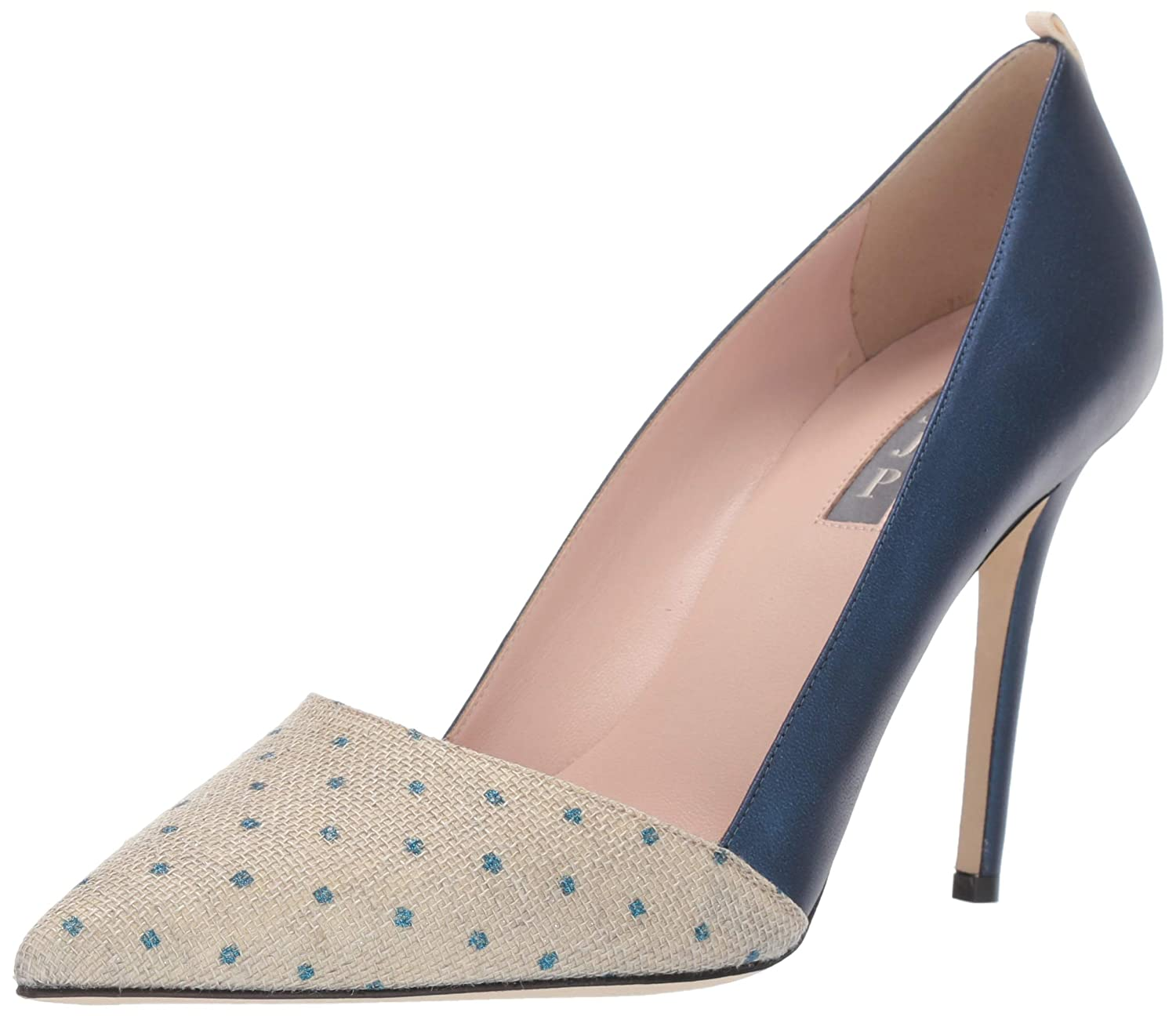 Infinity bluee SJP by Sarah Jessica Parker Womens Rampling Pointed Toe Classic Dress Pump