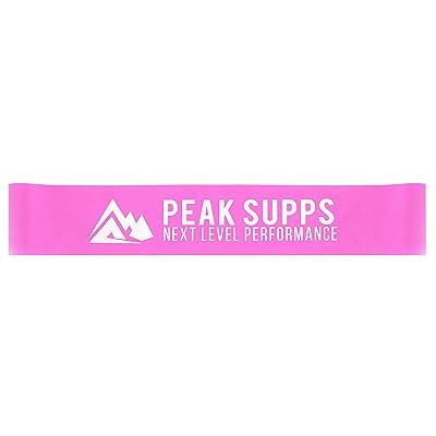 Bandes élastiques | Rose–résistance moyenne | Fessiers d'entraînement | Yoga | Pilates | | résistance formation de rééducation | Fessiers Activation | Peak Supps Past