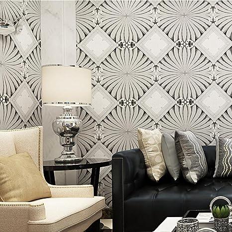Modern Wallpaper Red Flower Wallpaper Non Woven Wallpapers Foreign