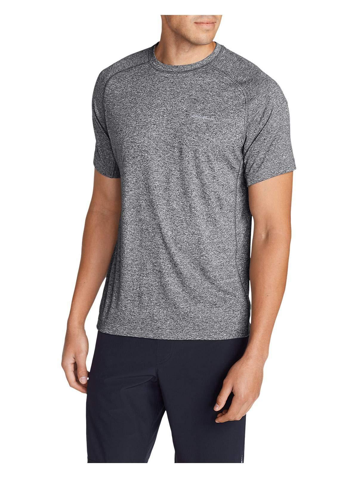 Eddie Bauer Men's Resolution Short-Sleeve T-Shirt, HTR Gray Regular S