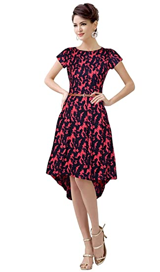 51ad4d05bd9d7 Dream Beauty Fashion Exclusive Designer Pink Western Dress Size   Small