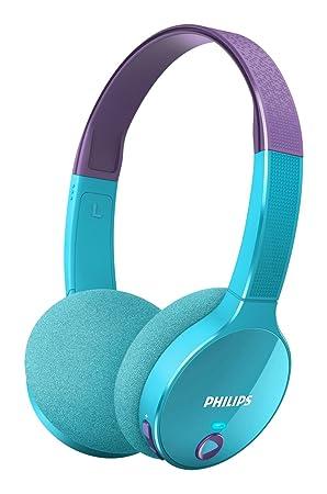 Philips Shk4000pp Casque Audio Enfant Bluetooth Sans Fil Avec Volume