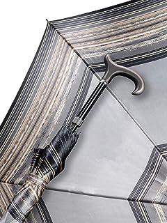 Regenschirm Stützschirm Avantgarde Farbe Grau Gestreift 5-fach Höhenverstellbar
