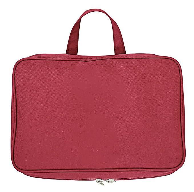 53a2973555a7 Amazon.com: Yiuswoy Nylon Cloth Waterproof Travel Cosmetic Bag ...
