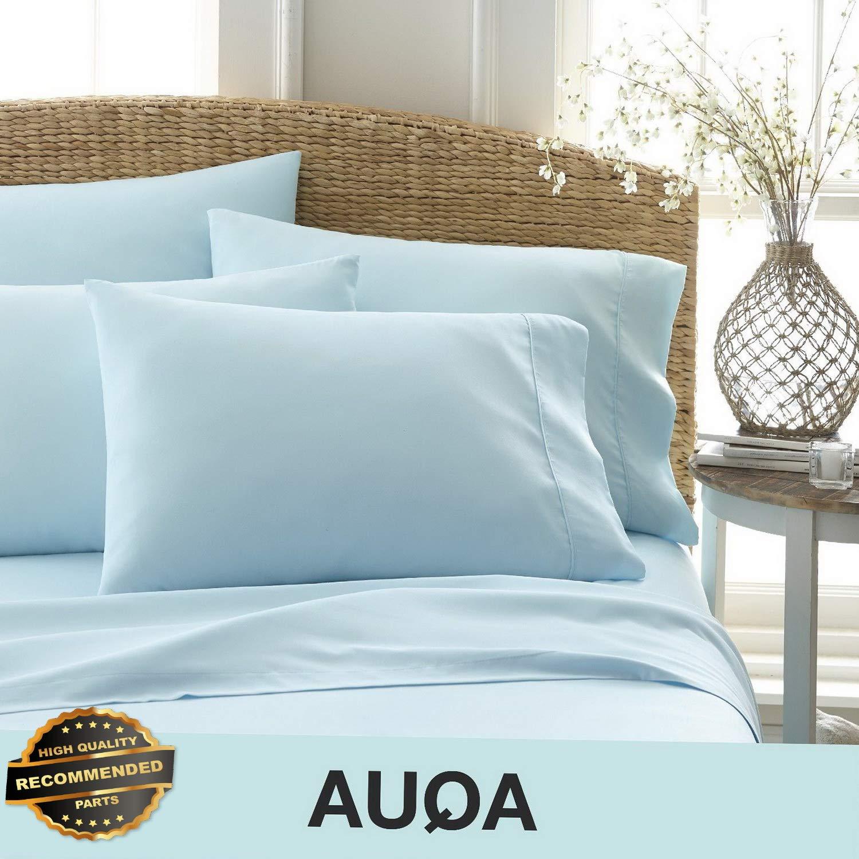 Gatton New Premium Ultra Soft 6 Piece Bed Sheet Set   LINENIENHM-182012808 Twin Extra Long