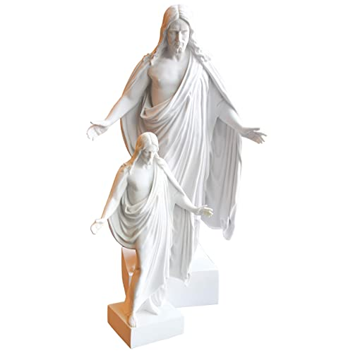 Belosol Christus Statue 12 Jesus Christ Cultured White Marble