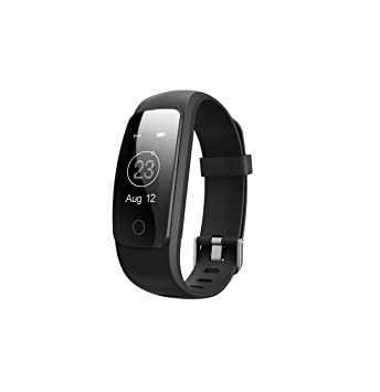 Toksum® Boost 2+® - Reloj inteligente de pulsera con monitor de actividad, podómetro y monitor de sueño, frecuencia cardíaca y GPS: Amazon.es: Deportes y ...