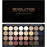 Makeup Revolution - Palette di 32 ombretti Ultra - Flawless, 16g