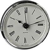 Uhrwerk | Einsteckuhrwerk | Einbau-Uhr | Modellbau-Uhr | Quartz Uhrwerk | Ø 66 mm | Nr.8075
