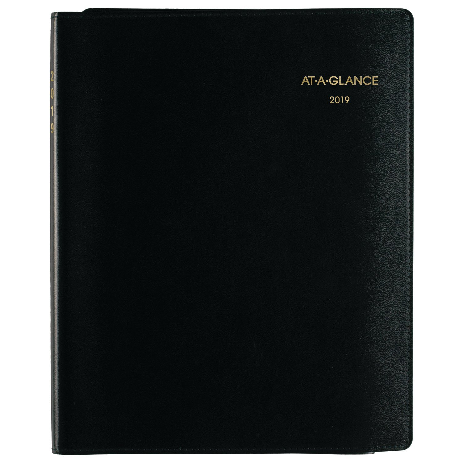 at-A-Glance Weekly Appointment Book Plus Writing Pad, 8-1/4'' x 10-7/8'', Black (70950P05)