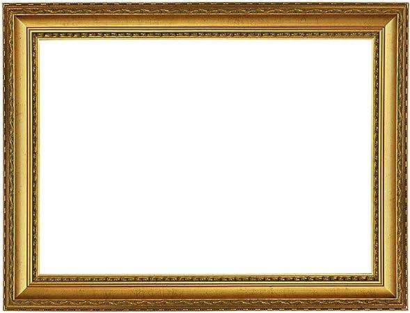Dif 917 BIA//Oro Baroque cadre blanc-or décoré cadre baroque blanc-or