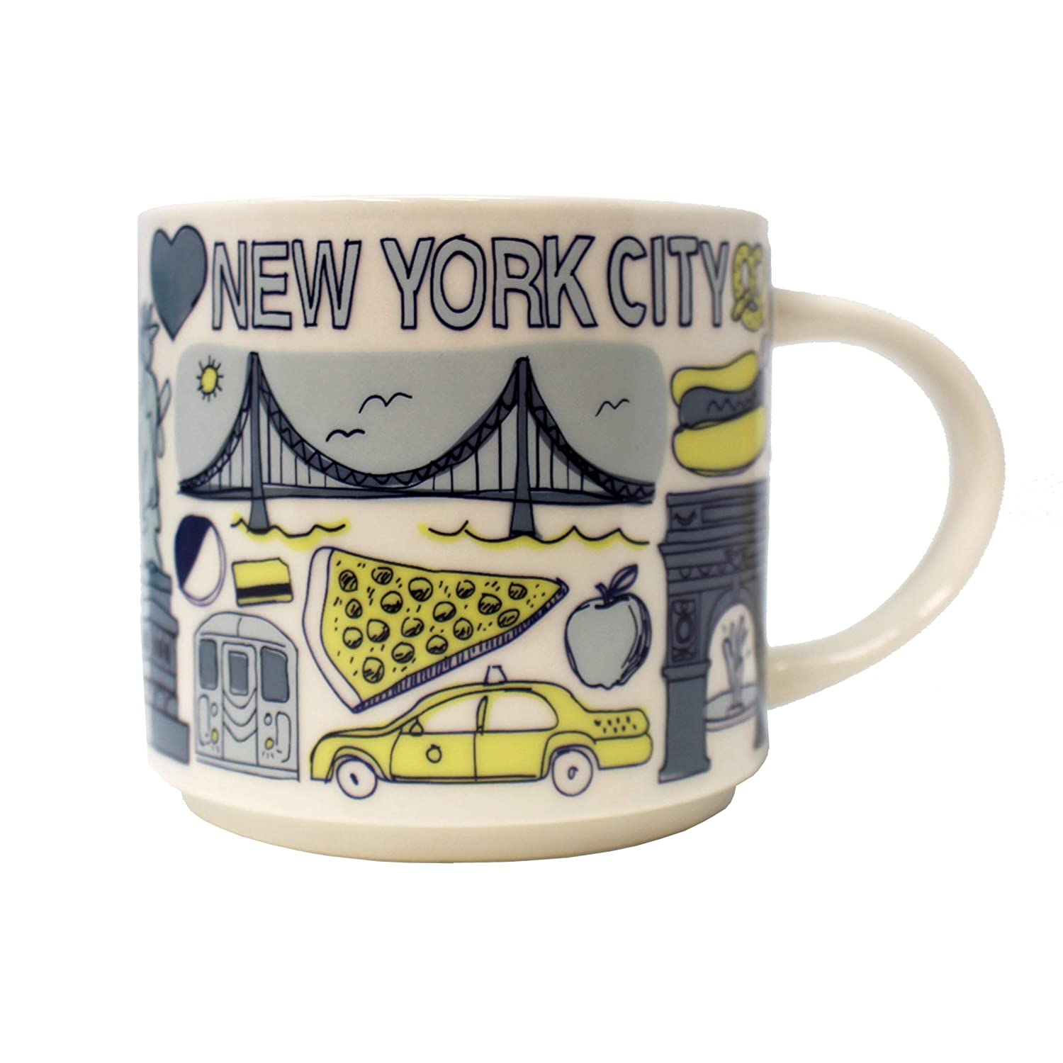 Starbucks Been There Mug - New York City, 14 FL Oz (011086601)