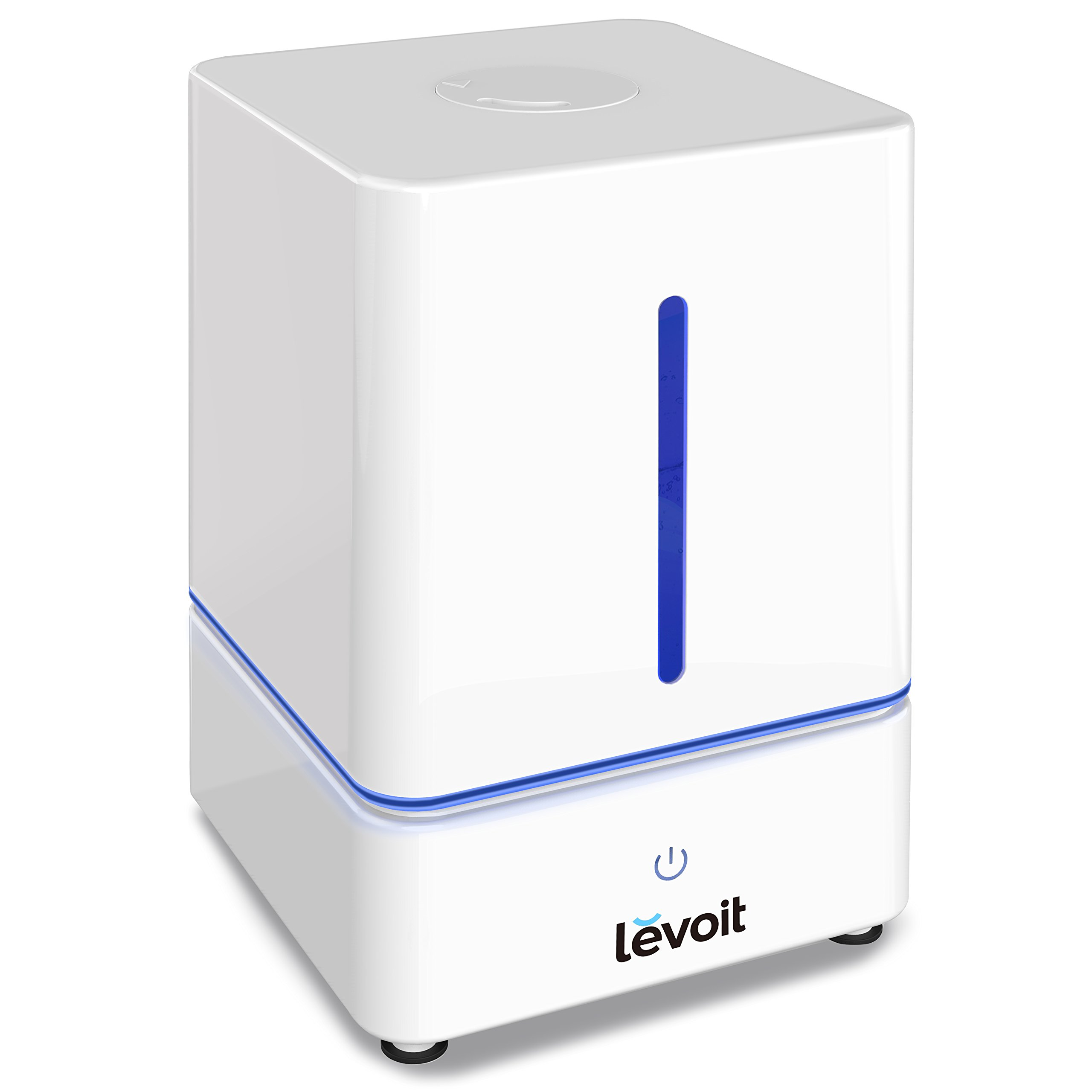 LEVOIT Humidifier, 4L Cool Mist Ultrasonic Humidifiers Bedroom Night Light Whisper-Quiet Operation, Filterless Vaporizer Home, Room, Babies, Waterless Auto Shut-off