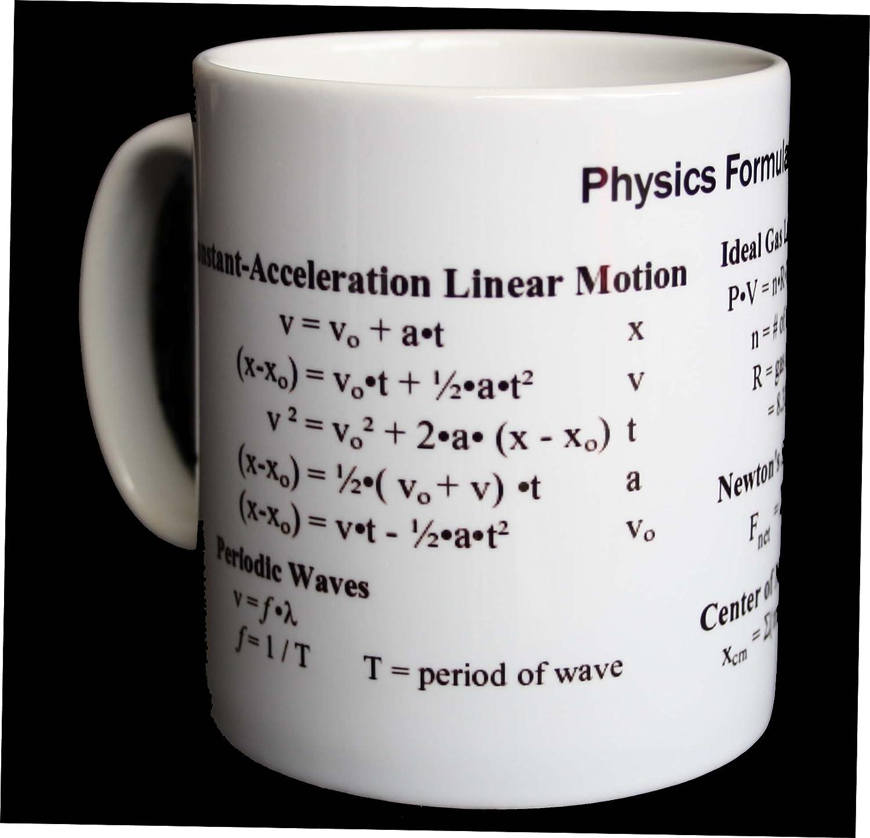 Physics Equations Mug: Amazon.co.uk: Kitchen & Home