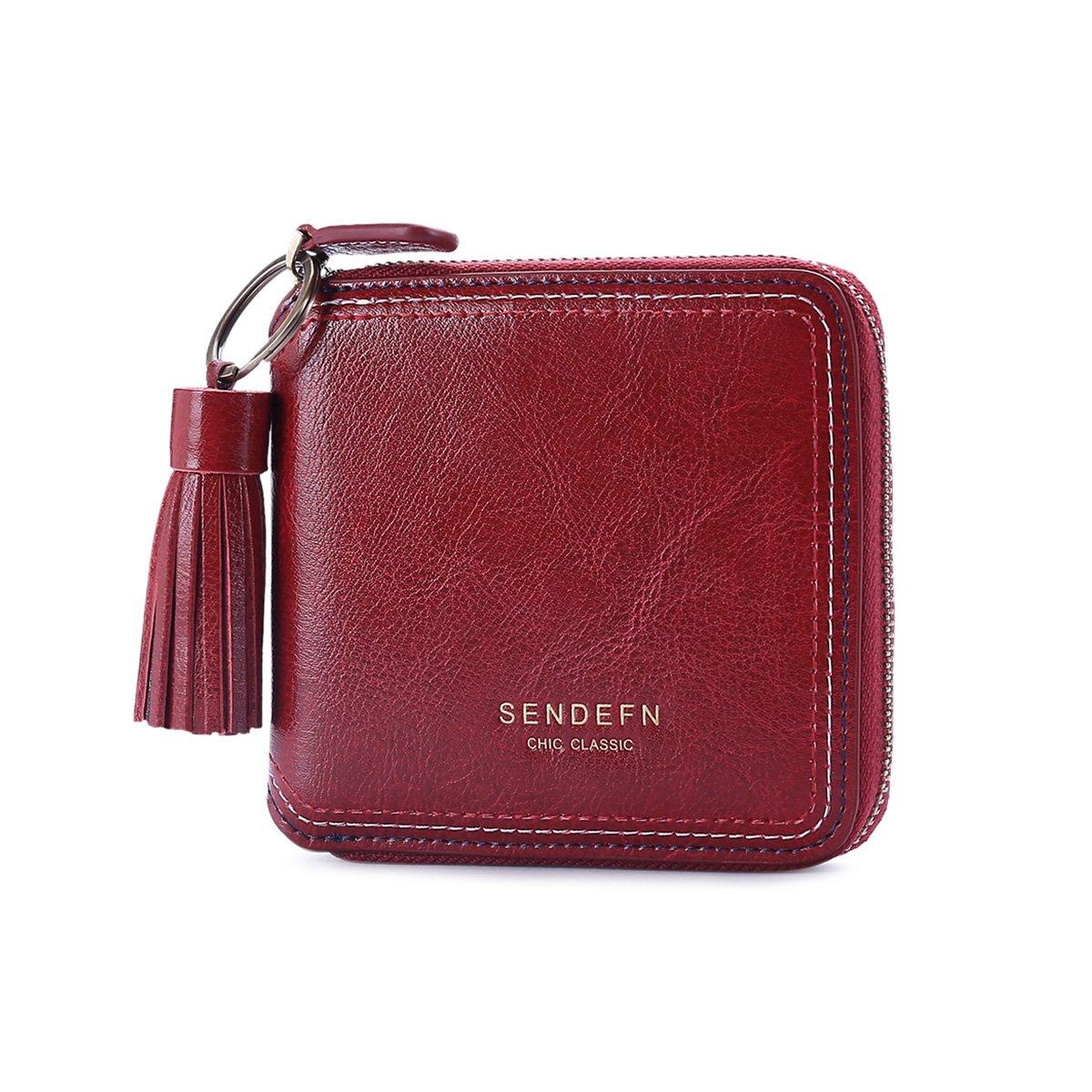 Mini Tassel Short Women Wallet Lady Coin Pocket Card Holder Phone Purse For Female