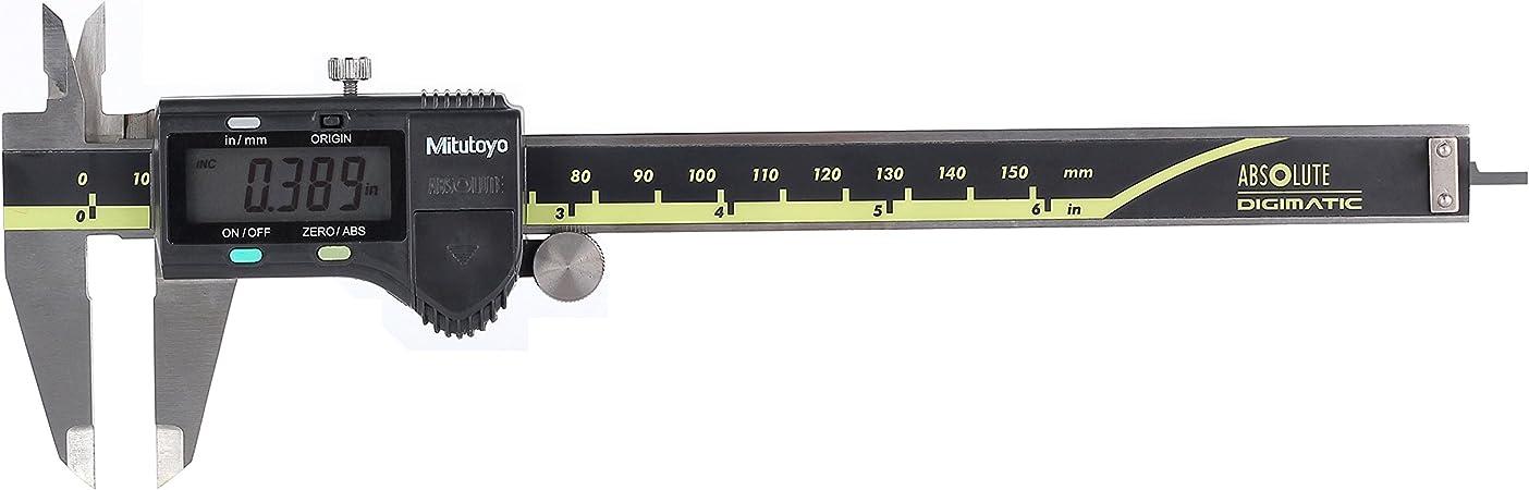 """Mitutoyo 500-196-30 Advanced Onsite Sensor Absolute Scale Digital Caliper 0-6/"""""""