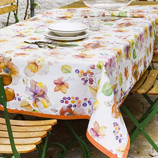 Jardin Mantel resinado de algodón antimanchas Vallesusa 150x150 ...