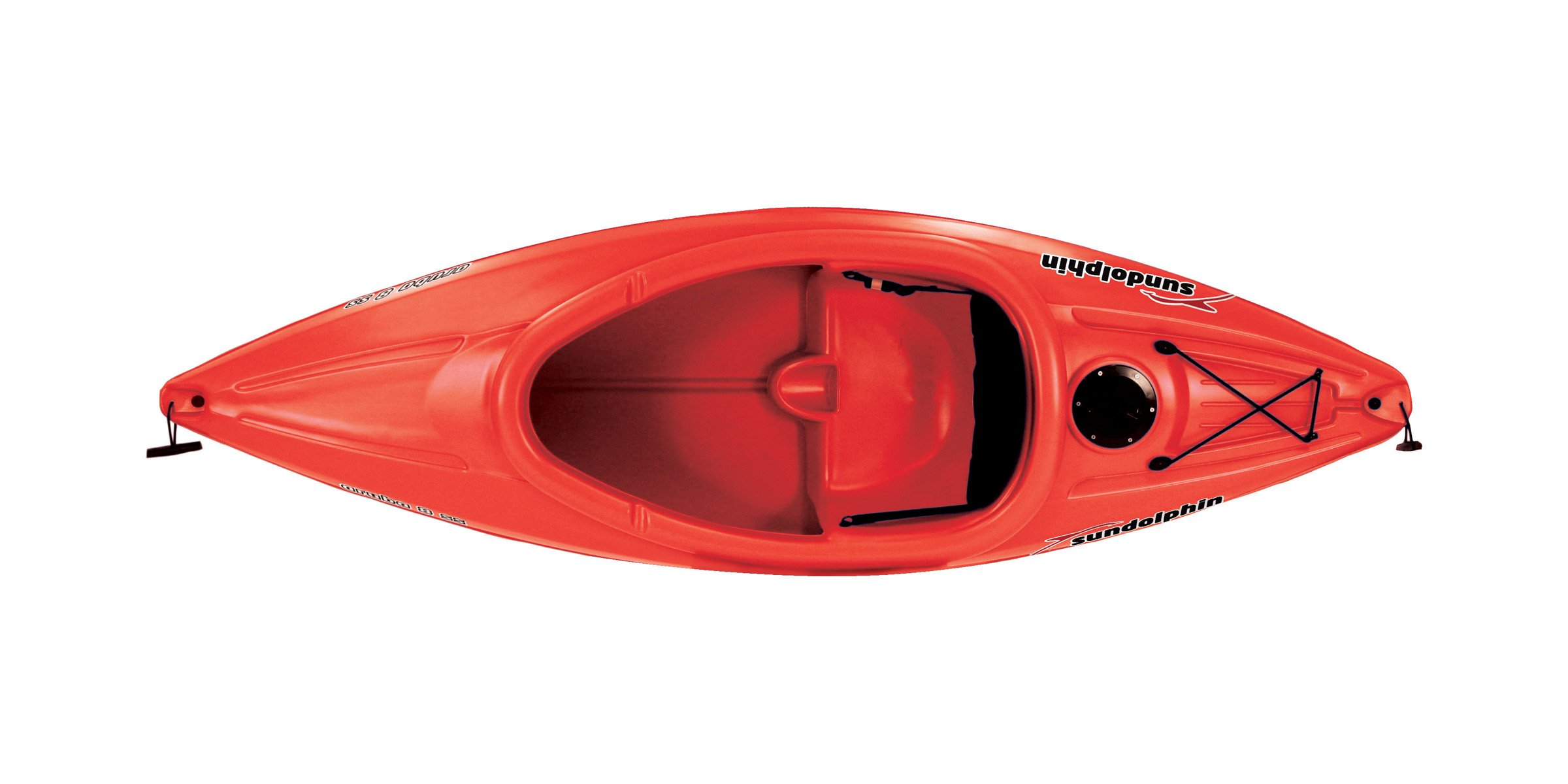 SUNDOLPHIN Sun Dolphin Aruba SS Sit-in Kayak (Red, 8-Feet) by SUNDOLPHIN (Image #2)
