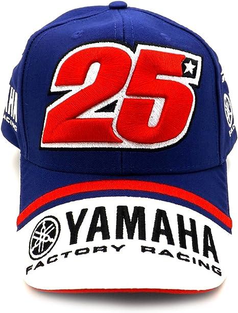 Maverick Vinales 25 Moto GP Yamaha Factory Racing Gorra Oficial ...