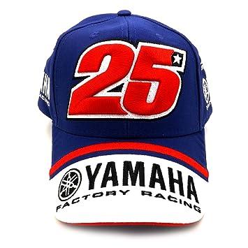 Maverick Vinales 25 Moto GP Yamaha Factory Racing Gorra Oficial 2017: Amazon.es: Deportes y aire libre