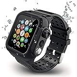 HOCO コンパチブル Apple Watch4 ケース アップルウォッチ4 カバー 44mm メッキ PC素材 軽量超簿 耐衝撃性 脱着簡単 Apple Watch 保護ケース Apple Watch Series 4に対応(44mm/ブラック)