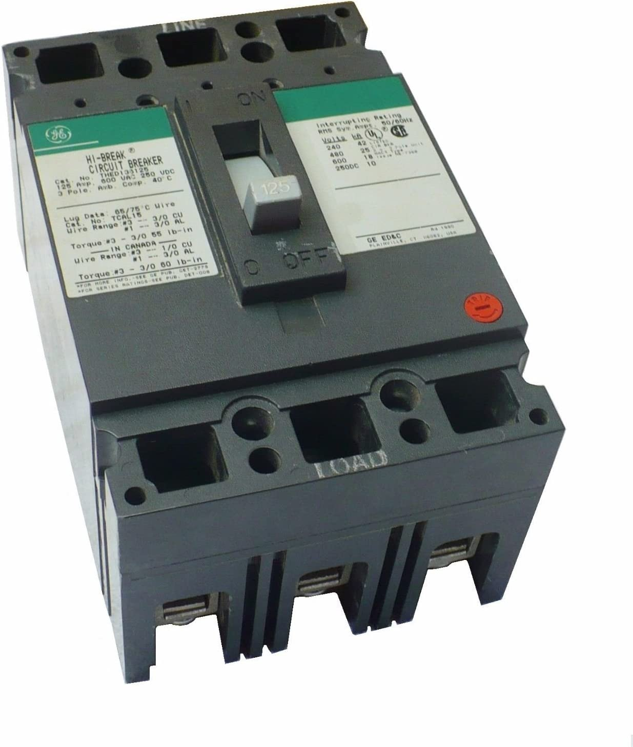 General Electric / Ge THED136125 (GE) Circuit Breakers