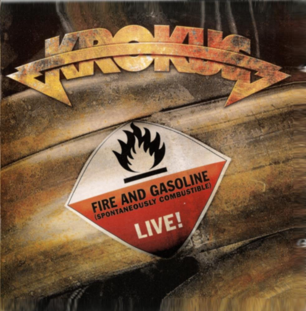 KROKUS - FIRE AND GASOLINE LIVE! GREATEST HITS 2CD SET