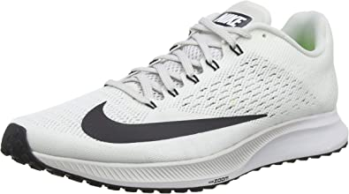 Nike Air Zoom Elite 10, Zapatillas de Running para Hombre, Blanco (Summit White/Oil Grey-White-Volt 100), 45 EU: Amazon.es: Zapatos y complementos