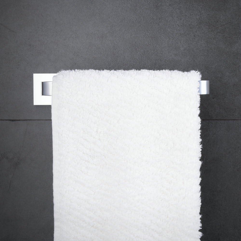 Brass Bathroom Accessories Towel Ring Wall Mounted Hiendure Chrome Towel Bar Holder