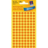 Avery Colour Coding Dots, Neon - Self-Adhesive Labels (Neon, Orange, Circle, Paper, 8 mm, 416 pc(s), 104 pc(s))