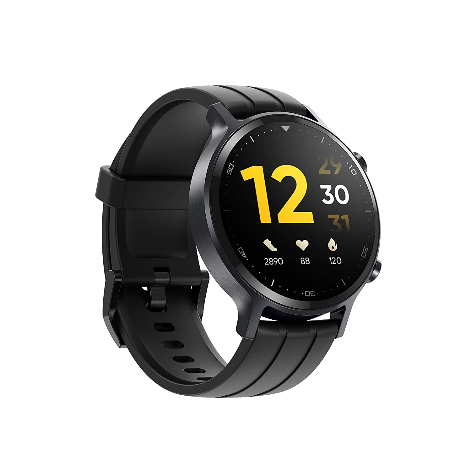 """realme Watch S with 1.3"""" TFT-LCD Touchscreen, 15 Days Battery Life, SpO2 & Heart Rate Monitoring, IP68 Water Resistance"""