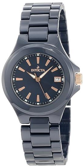 Invicta 12541 - Reloj de pulsera mujer, caucho, color azul