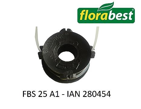 Bobine de rechange pour LIDL FLORABEST coupe-bordure thermique à essence BL FBS 25 A1 - IAN 280454: Amazon.fr: Jardin