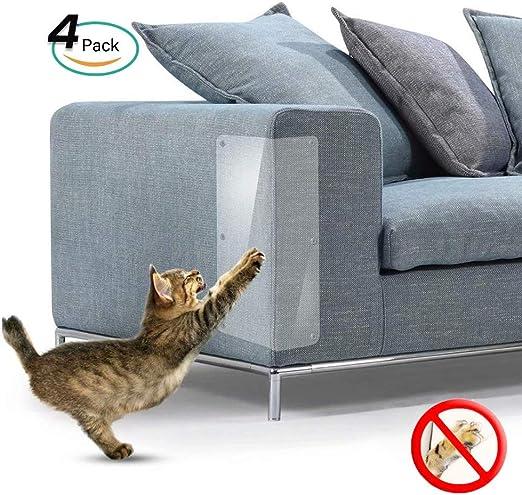 Galaxer 4 Piezas de Protección Anti-Arañazos Transparente Gato ...