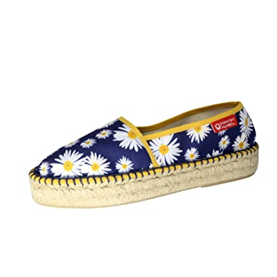 Dorothy Mambo x Fusion Kawaii Espadrille Slip-on Loafer Daisy Flower Made In SPAIN