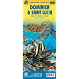 Dominica & Saint Lucia itm r/v (r) wp (International Travel Maps)