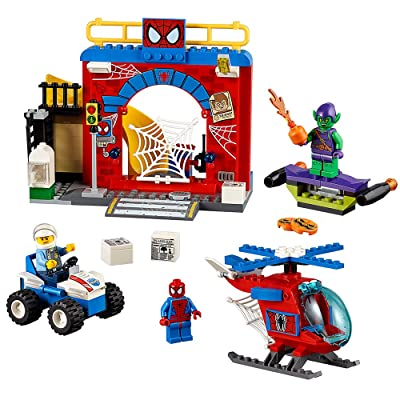 LEGO Juniors Spider-Man Hideout 10687: Toys & Games