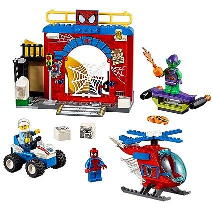 LEGO Juniors Spider Man Hideout 10687 Toy, Marvel Legends