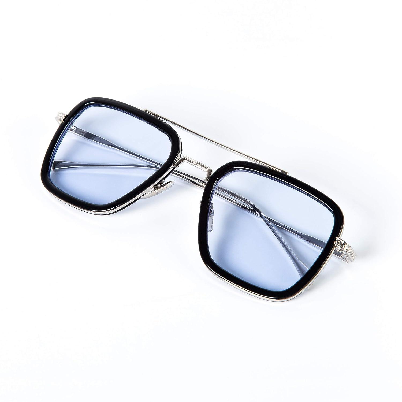 Amazon.com: Gafas de sol de Iron Man, gafas de edición Tony ...