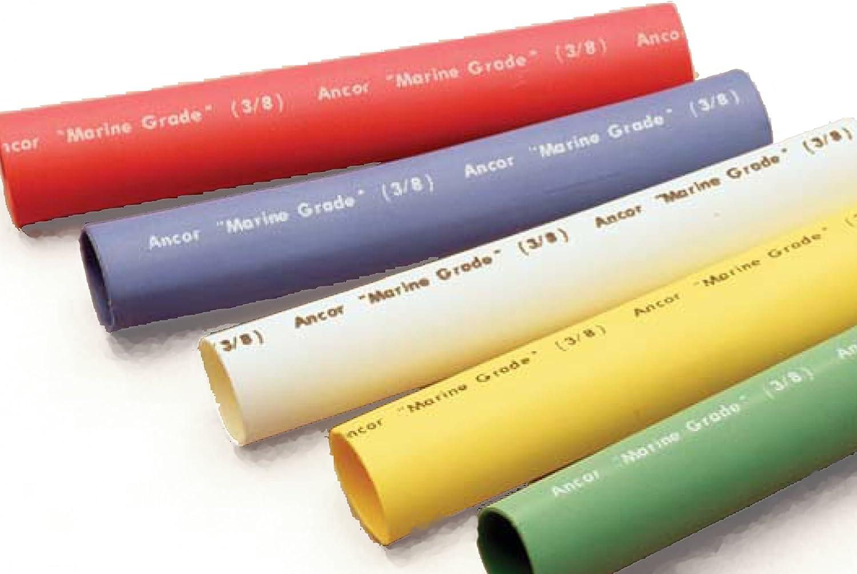 "Ancor Marine Adhesive Lined Heat Shrink Tubing 3//8/"" Yel"