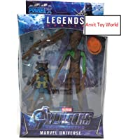 ANVIT Toy World End Game Union Legend 17 cm (Groot and Rocket)