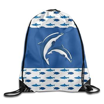 Kathleen delfín 5 impreso cachorro cara sonriente emoticono suave Casual mochila escolar libro bolsas mochila cordón